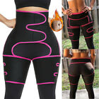 Neoprene Thigh Shaper High Waist Leg Wrap Trimmer Belt Sauna Sweat Body Shaper image