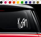 Korn Band Decal Vinyl Sticker For Car Truck Guitar Music Choose Size And Color