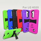For LG Stylo 2 / Stylo 2 plus Rugged Stand Armor Drop-Proof Cover Case