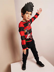 Dennis The Menace Fancy Dress Costume Dressing Up Outfit - Various Sizes - NEW