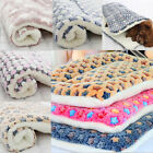 Dog Blanket Fleece Pet Blanket For Dogs And Cats Bed Soft Cushion Warm Mattress