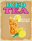 Iced Tea DECAL (CHOOSE YOUR SIZE) V Food Truck Concession Sticker