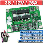 3S 25A Li-ion Lithium Battery 18650 Charger PCB BMS Protection Board -Balance US