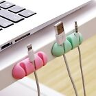 Silicone Adhesive HDMI-Cable Clamp Wire Clips Holder Organizer for PC Desktop