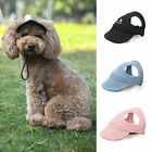 Outdoor Pet Cat Dog Hats Sports Baseball Travel Sun Caps for Puppy Large Dogs