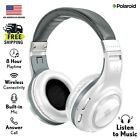 Polaroid Bluetooth Wireless Headphones | Dynamic Stereo Headset with Microphone