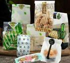 Packaging Bags For Party Events Gifts Candies Cookies Storage Plastic Bag 50pcs