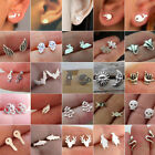 Halloween Bat Ghost Snake Witch Studs Earring Ear Studs Xmas Jewelry Gift