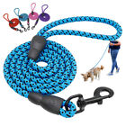 1.5M Long Strong Dog Lead Climbing Rope Braided Threaded for Pet Training Handle