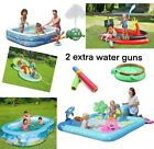 Large Family Swimming Pool Paddling Inflatable  Fun Swimming Chad Valley