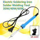 110V 60W Adjustable Electric Temperatur Welding Gun Iron Tool Soldering US
