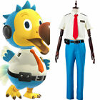 Animal Crossing Orville/Wilbur Cosplay Dodo Airlines Pilot Suit Costume Outfit