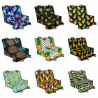 Floral Pineapple Colorful Cushion Covers Pet Rear Seat Protector Mat For Dog Cat