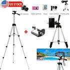 Professional Camera Tripod Stand Mount Cell Phone Holder for iPhone Samsung Bag