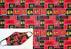 New NHL Chicago Blackhawks 100% Cotton Fabric Your Choice of 1/2, 1/4 or FQ Yard $9.95 USD on eBay