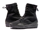 Mens Military Combat Canvas High Top Lace Up Work Outdoor Boots Shoes Oxfords Sz