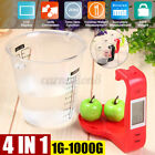 4 in 1 Kitchen Measuring baking scale Digital LCD Display Detachable 1-1000G