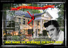 Elvis Presley framed print wall clock with working clock Not a cd clock. Xmas