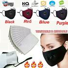 PM2.5 Anti Air Pollution Face Shiled Respirator With Filters Washable Reusable