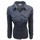 Columbia Women's Nocturnal Stripe Camp Henry II L/S Shirt Retail 65 466