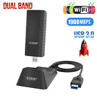 2.4G/5G Wireless USB 3.0 Wifi adapter 1200Mbps/1900Mbps Dual Band 802.11b/n/g/ac