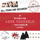 BTS World Tour LY Speak Yourself The Final Merchandise Authentic K-POP Goods