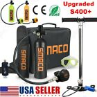 SMACO Mini Scuba Diving Kit 1L Oxygen Cylinder Tank Equipment Underwater Breath