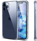 For Iphone 12 11 Pro Max Xs Max Xs Se 7 8 Plus Full Protective Case Clear Cover