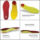 Mens High Arch Sof Sole Insoles Foam Shoe Insert Performance Full-Length NEW