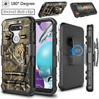 For LG Phoenix 5/Tribute Monarch/Fortune 3/Aristo 5 Shockproof Heavy Duty Case