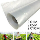 Clear Plastic Greenhouse Poly Film Polytunnel Poly Hot-House Cover VARIOUS LENGT