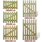 Wooden Garden Gate Picket Fence Impregnated Pinewood Outdoor multi Sizes UK