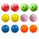 Golf Balls Plastic Practice Ball New Hollow Pack White Training Wiffle Perforate