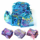 100pcs Organza Gift Bags Jewellery Pouches Wedding Party Candy Favour All Sizes