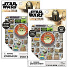 2 X Star Wars Baby Yoda Sticker Book Pads Puffy Birthday Party Favors Candy Bag $9.85 USD on eBay