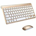 Mini Wireless Keyboard And Mouse Set Waterproof 2.4G For Mac Apple PC Computer