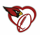 Arizona Cardinals Bird Heart NFL Sticker Vinyl Decal 4-1244 $3.74 USD on eBay