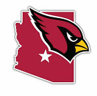 Arizona Cardinals Map NFL Sticker Vinyl Decal 4-1249 $3.74 USD on eBay