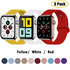 3pcs/Lot Silicone Sport Band Strap For Apple Watch Series SE 6 5 4 38/42/40/44mm