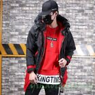 Vogue Mens cotton-padded clothes Dowan Jackets Working INS Thicken multi-pocket