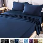 LIANLAM Queen Bed Sheets Set - Super Soft Brushed Microfiber 1800 Thread Count -