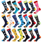 Mens Combed Cotton Socks Funny Cartoon Animal Novelty Fancy Dress Sox For Gift