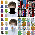 Kids Dinosaur Bandana Head Face Mask Tube Scarf Crocodile Car Balaclava Headband