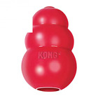 KONG Classic Dog Chew Toy X Small Med Large Red Rubber Treat Dispenser or Treats