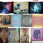 Psychedlic Mandala Wall Tapestry Hippie Flower Art Wall Hanging Blanket Decorate