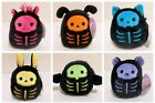 Squishmallows Kellytoy 2020 Halloween Skeleton Collection 5' Mini Plush Doll