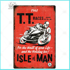 Metal Posters Vintage Motorcycle Wall Decor Garage Retro Plaque Signs Man Cave