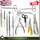 Manicure Ingrown Nail Nipper Chiropody Nail Files Removal Surgery Scissors Tools