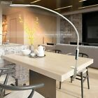 Remote Control Led Table Desk Clip Lamp Long Arm Eye Protection Bright Control