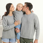 Christmas Family Matching Jumper Sweaters Xmas Parent-child Pullover Knitwear